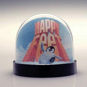 the modern round snowglobe