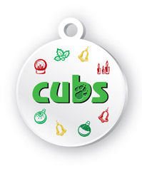 Eco-friendly bauble visual for The Cubs